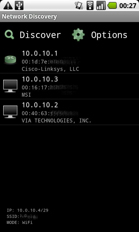 port scanner android